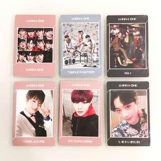 [CLEARANCE] Wanna One Undivided Photocards/PCs