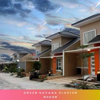 Green Savana Cluster - Rumah Fasilitas Lengkap Cicilan Murah Nyaman