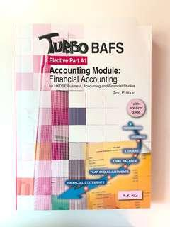 Turbo BAFS - Elective Part A1 Accounting Module: Financial Accounting