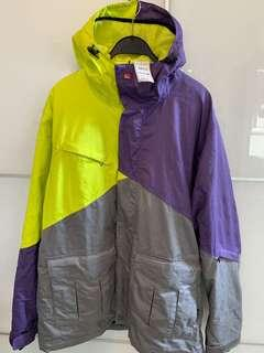 100% new & real QUIKSILVER men's ski jacket 全新正貨男裝雪褸