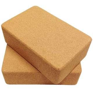 Cork yoga block BRAND NEW