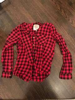 Red Checkered Shirt