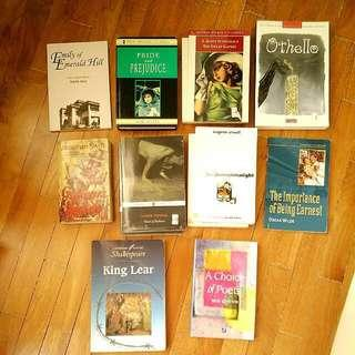 Assorted Books & Literature Texts (Gulliver's Travels, Long Day's Journey into Night, A Choice Of Poets)