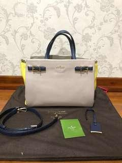 Authentic Kate spade  nude yellow colour