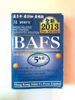 HKDSE BAFS DSE+CE+AL Related Suggested Solution