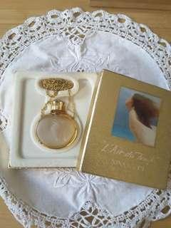 Rare Nina Ricci L'Air du Temps 3ml empty perfume chain bottle