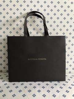 Bottega Veneta Paper Bag (Mandarin Orange Carrier)