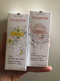 Clarins hand cream 30ml