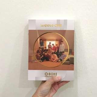 Wanna One ipu day ver full set Yoon Jisung album