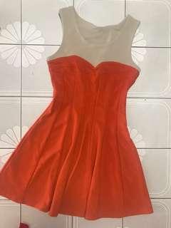 Colorblock CNY Dress