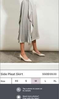 Looking for Collate skirt in silver M