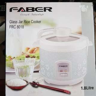 Faber Rice Cooker 1.8L