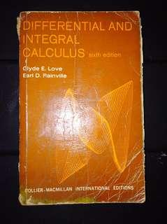 Integral Calculus (sixth edition)