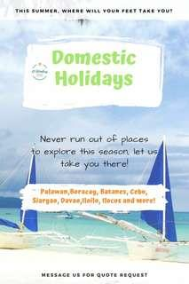 DOMESTIC HOLIDAYS