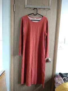 長身斯文裙long dress