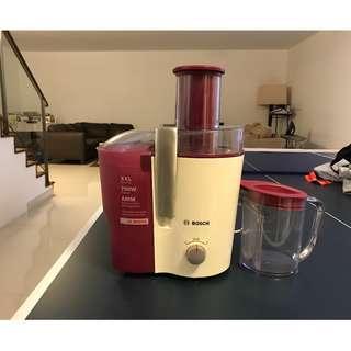 Bosch Home juice maker juicer