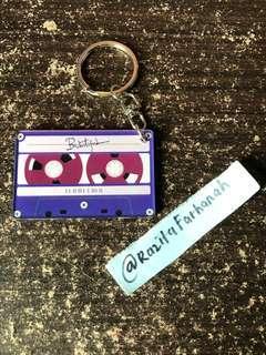 Wanna One Cassette Keychain