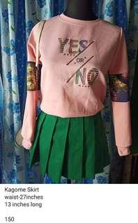 Green Seifuku Skirt