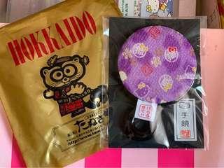 北海道限定Hello Kitty和風手鏡