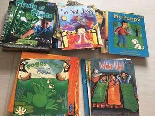 Preschooler readers (kites)
