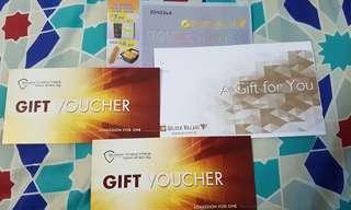 🚚 2 Shaw Theatres Movie Voucher + 1 GV Voucher +  2  $3 OFF movie codes for GV online booking