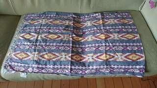 花圍巾print wrap