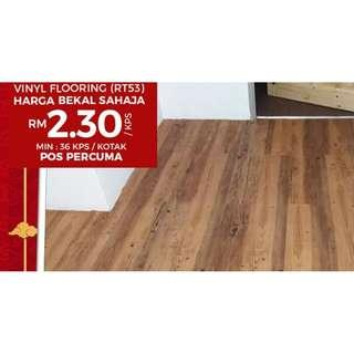 Buy Vinyl Floor From Alaqsa Carpets At Cheapest Price in Malaysia!!