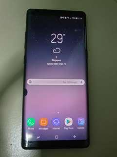 Samsung Galaxy Note 8 (Midnight Black) 64GB