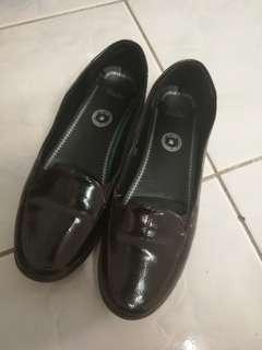 Bata Flat Shoes Dark Brown