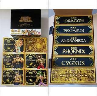 香港限定 聖闘士星矢 5in1 新ブロンズクロス ゴールドバージョン コンプリートBOX