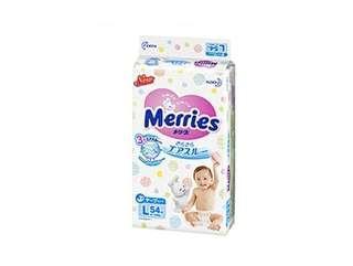 2包送到順便智能櫃,平均$105/包 , Merries 花王尿片 大碼尿片54片
