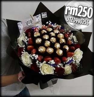 Flower Bouquet strawberry bouquet choxolate bouquet