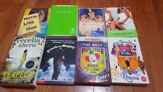 Novels. All for $10. MUST GO ASAP.
