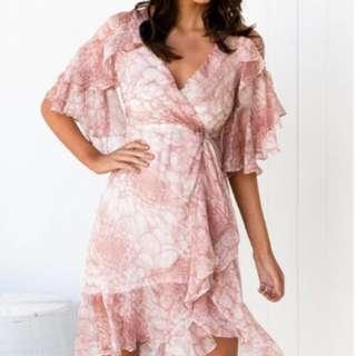 AMAROSO FLORAL DRESS
