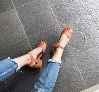 Sepatu heels 3cm