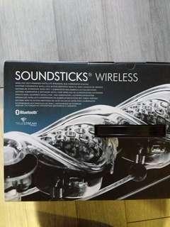 Harman/Kardon soundsticks無線藍芽2.1聲道喇叭三件組家庭劇院必備