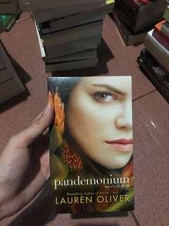 Pandemonium novel (sequel to Delirium) by Lauren Oliver