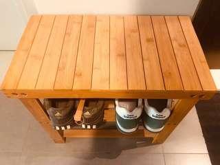 Shoe rack/bench