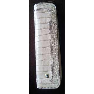 MONTBLANC Crocodile PEN Pouch - Single Pen - Zip