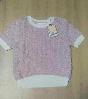 Bread and Butter pink sweater