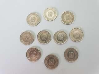 Singapore 10 Cent Coin 1972 , 1 pc for $12