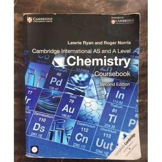 A Level Chemistry coursebook for AS and A Level ORIGINAL #SBUX50