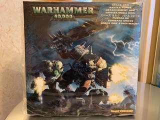 Warhammer 40k space ork battle force
