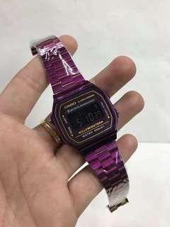 authentic limited edition violet and blue casio