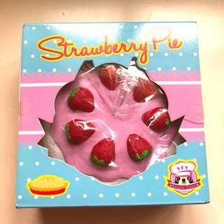Chawa Strawberry Pie Squishy