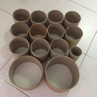 $3 for all toilets rolls inner roll for art and craft