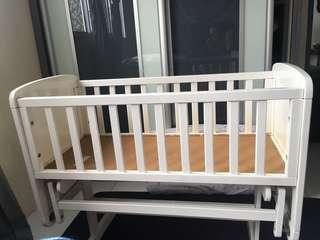 Mothercare baby swing crib