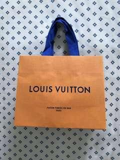 Louis Vuitton Paper Bag (Mandarin Oranges Carrier)