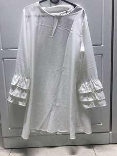 White blouse xl
