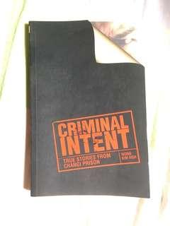 Criminal Intent: True stories from Changi prison